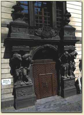 Entrance portal with sculptures by Braun
